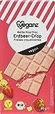 Veganz BIO Weiße Rice Choc Erdbeer-Crisp, 80 g