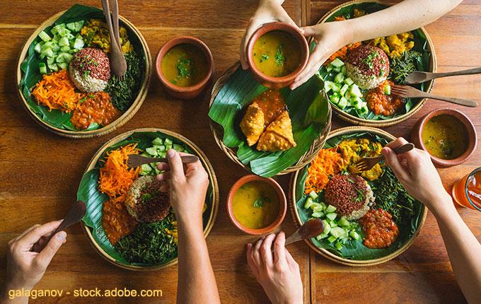 Menschen beim Essen