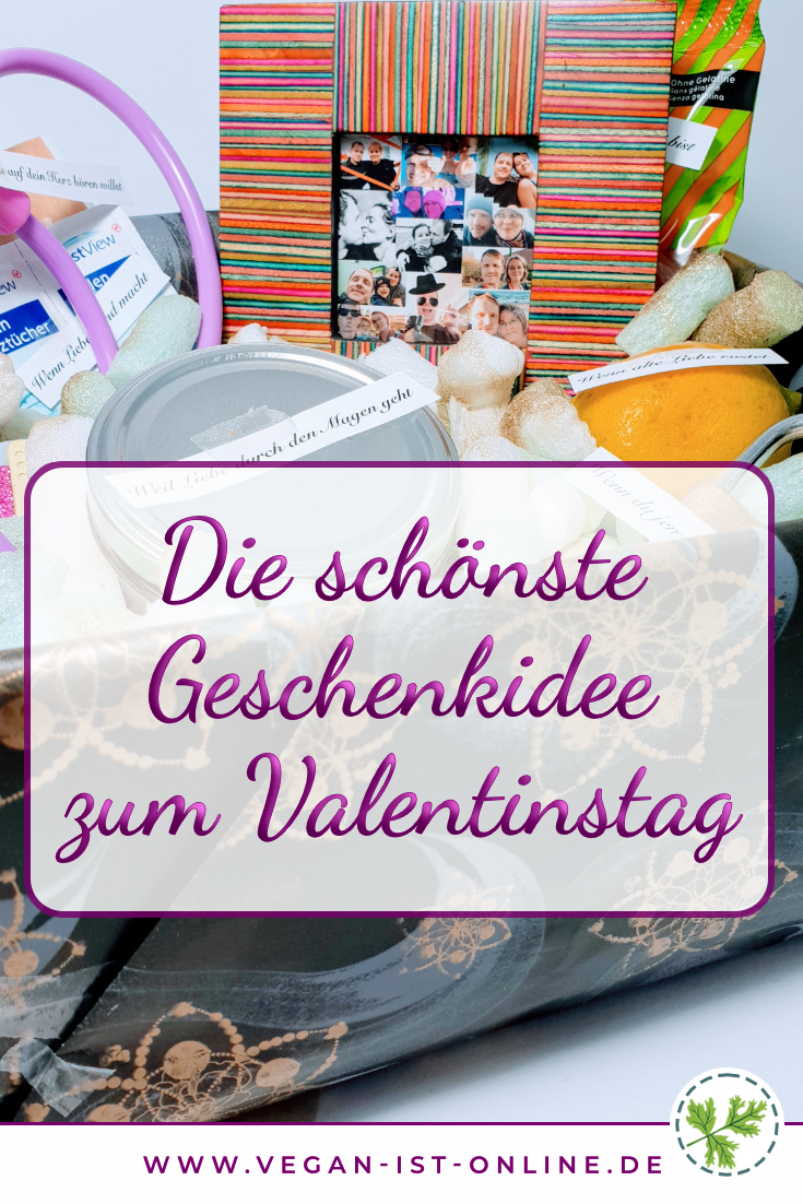 Die schönste Geschenkidee zum Valentinstag | Mehr Infos auf www.vegan-ist-online.de