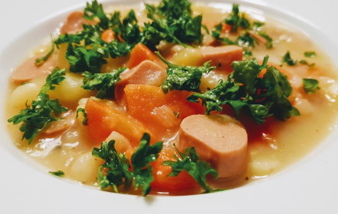 Vegane Kartoffelsuppe