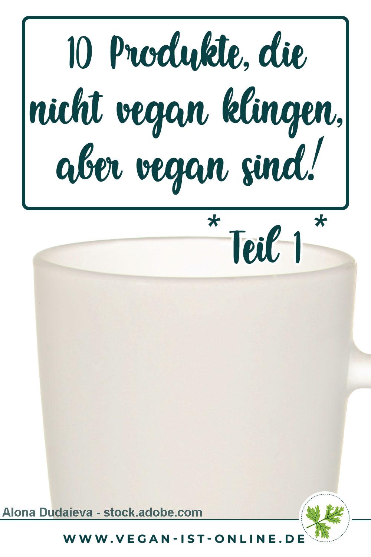 10 Produkte, die nicht vegan klingen, aber vegan sind Teil 1 Milchglas | Mehr Infos auf www.vegan-ist-online.de