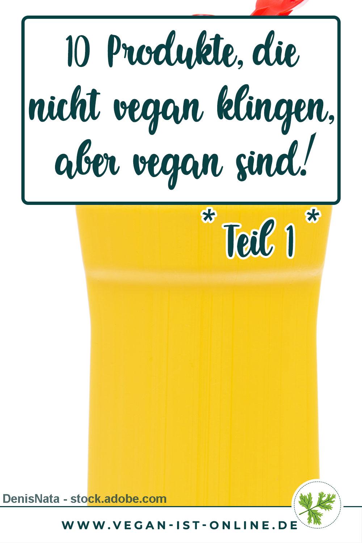 10 Produkte, die nicht vegan klingen, aber vegan sind Teil 1 Scheuermilch | Mehr Infos auf www.vegan-ist-online.de