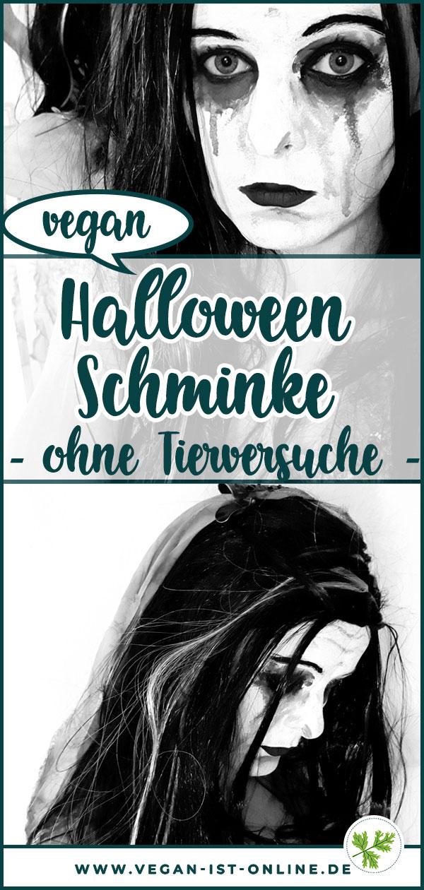 Halloween Schminke vegan ohne Tierversuche | Mehr Infos auf www.vegan-ist-online.de