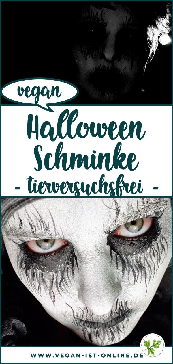 Halloween Schminke vegan tierversuchsfrei | Mehr Infos auf www.vegan-ist-online.de